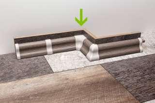 PVC KUT UNUTARNJI ZA LETVICE FOEI MERBAU / ORAH STMA80 708533