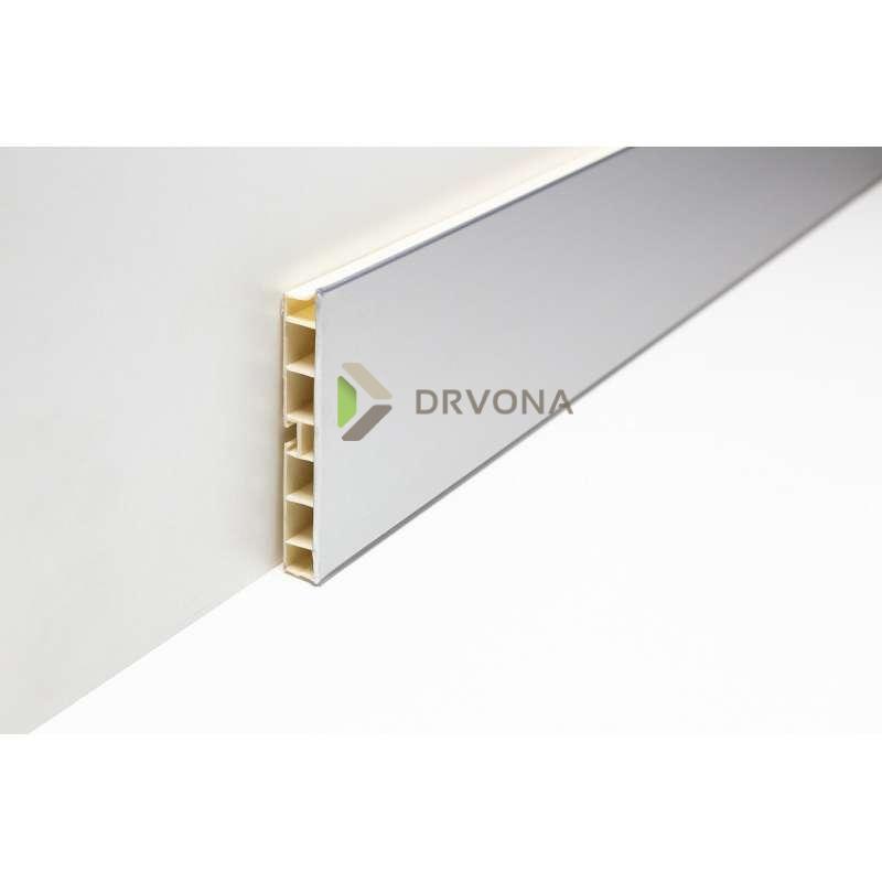 PVC SOKL100mm  ALU-MAT 4m 103334280