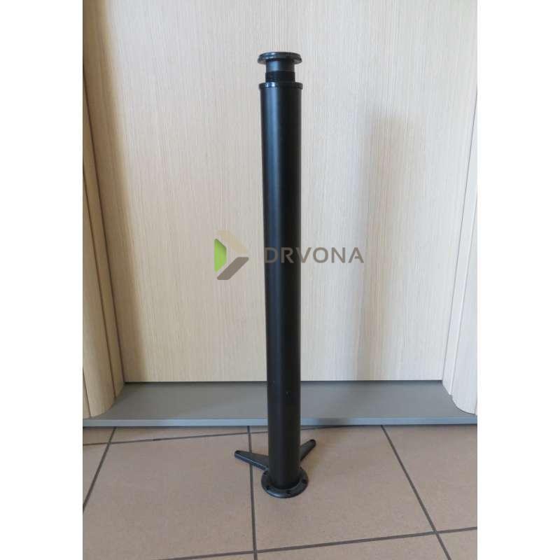 NOGA ZA STOL 710mm CRNA  10001540130