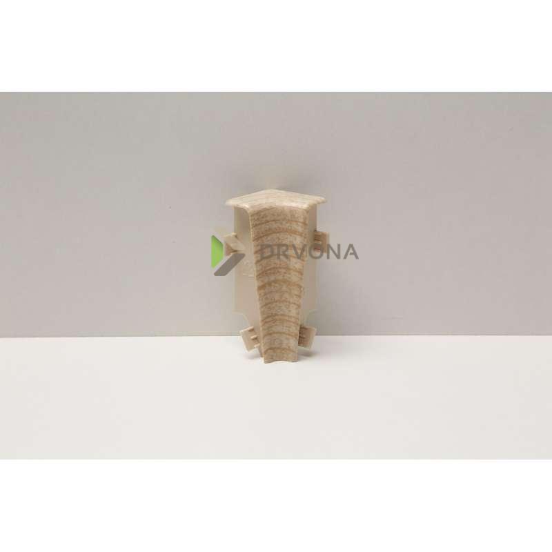 PVC KUT UNUTARNJI ZA LETVICU P71 SONOMA (KLJ)