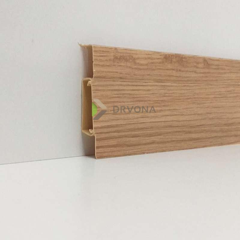 PVC LETVICA ZA LAMINAT HI LINE M135 HRAST R073/4033/114 2,5m