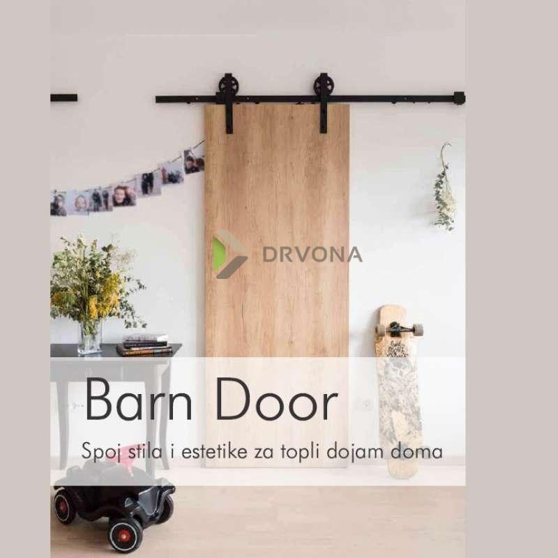 BARN DOOR SET ZA DRVENA VRATA 69007