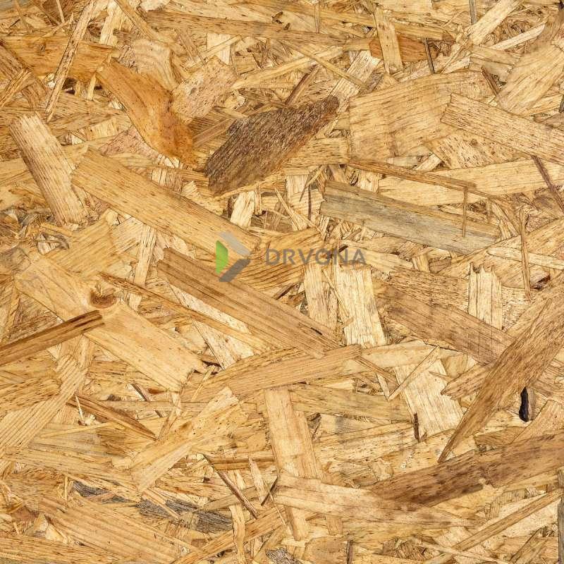 OSB 3 PLOČA 10mm 125/250 RAVAN RUB  3,125m2